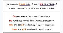 have - have got - has got - have gotten. разница